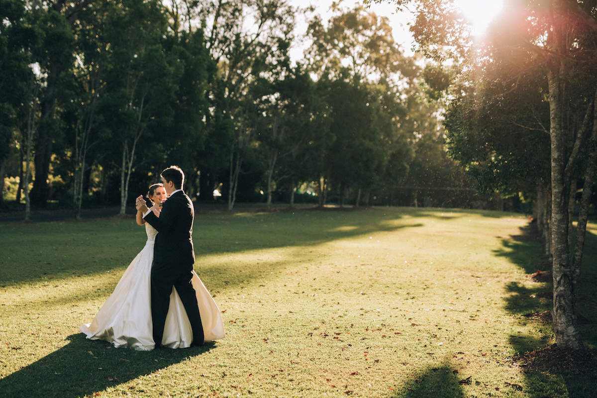 Gold Coast Winter Wedding Hinterland Wedding Venue Garden