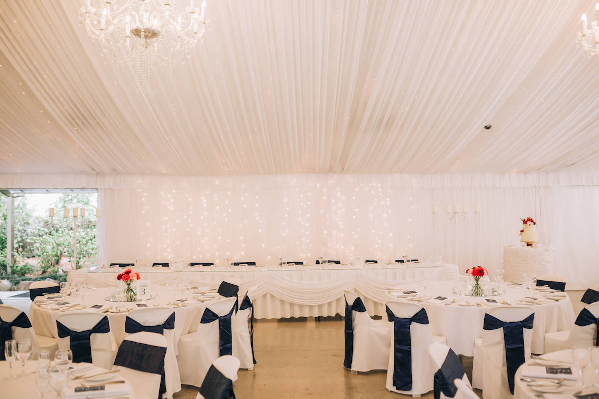 Gold Coast Winter Wedding Hinterland Wedding Venue Marquee Reception