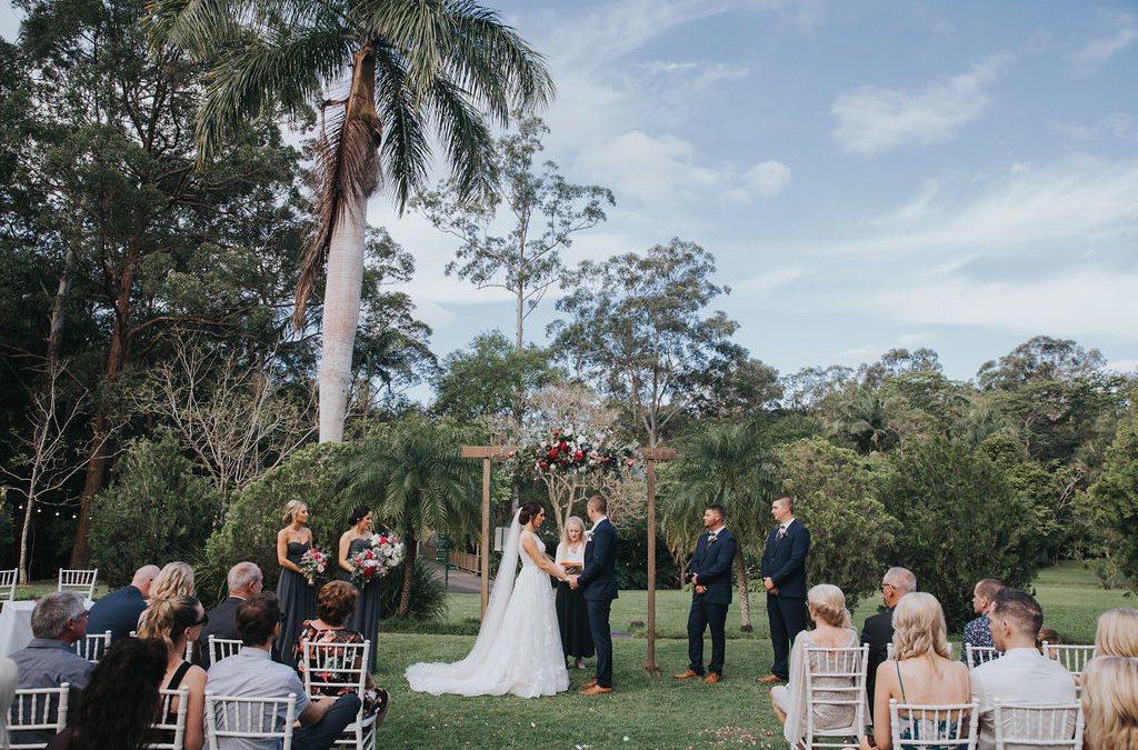 Real Wedding: Georgia & Kurtis | Coolibah Downs, Gold Coast Hinterland Wedding Venue
