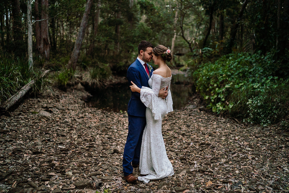 Real Wedding: Fiona and Gareth, Coolibah Downs Gold Coast Wedding Venue